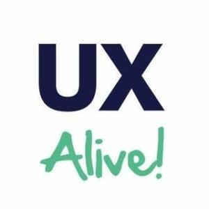 Logo der UX Alive!