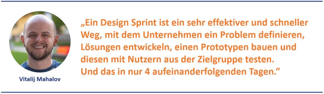 Design Sprint - alles in vier Tagen
