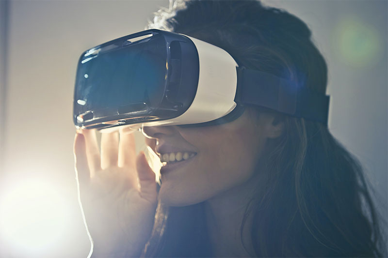 Keyvisual AR und VR im UX Bereich