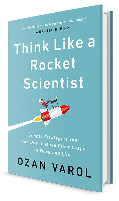 "Buchcover: ""Think Like a Rocket Scientist"" von Ozan Varol"